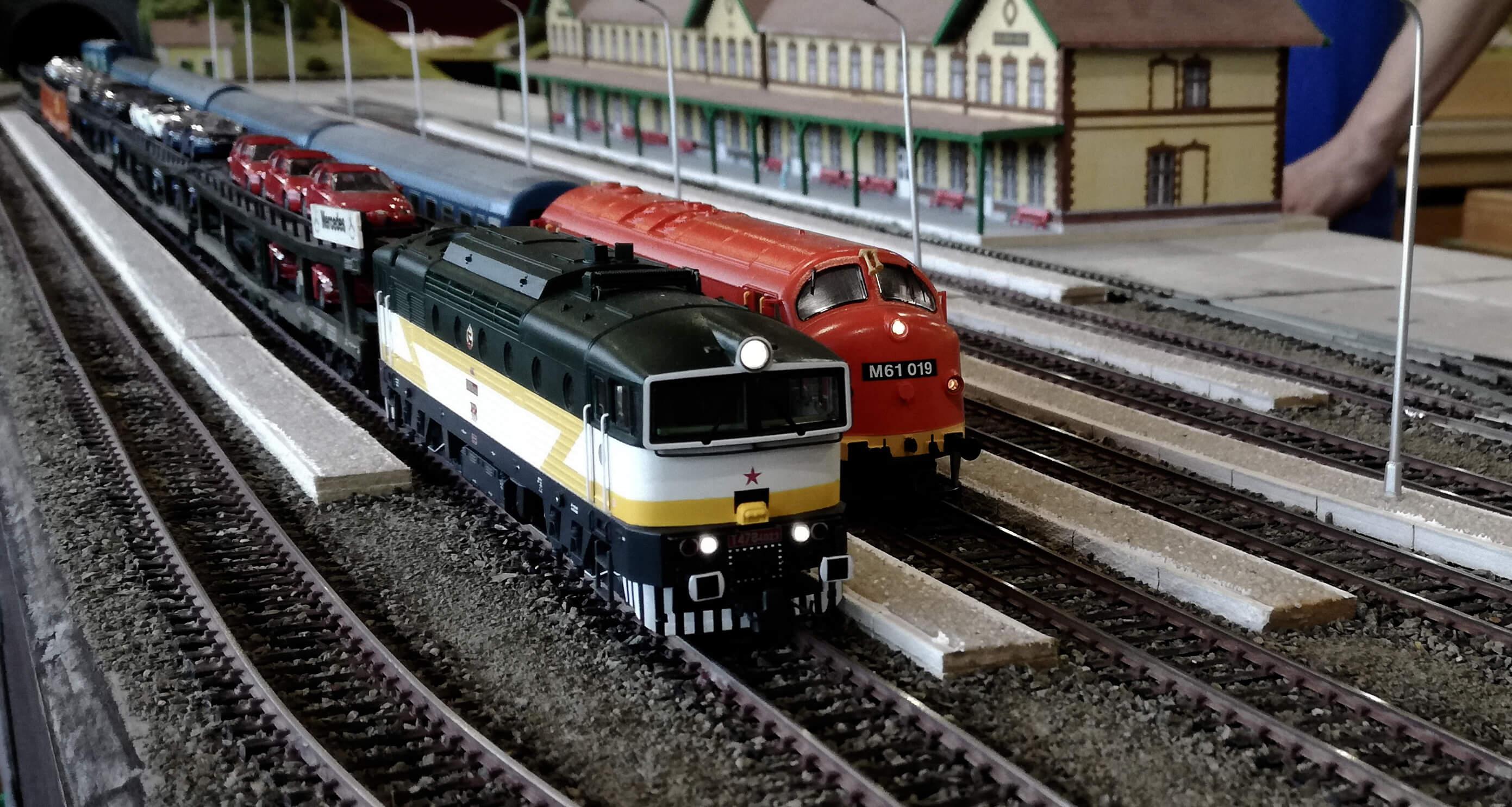 Megnyílt a XIV. Nemzetközi Vasútmodell Kiállítás és Mozdonyparádé