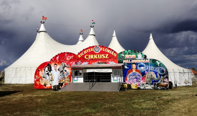 cirkusz, richter