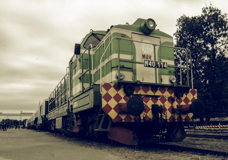 Mozdonyparádé képekben