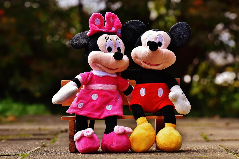 90 éves Mickey egér