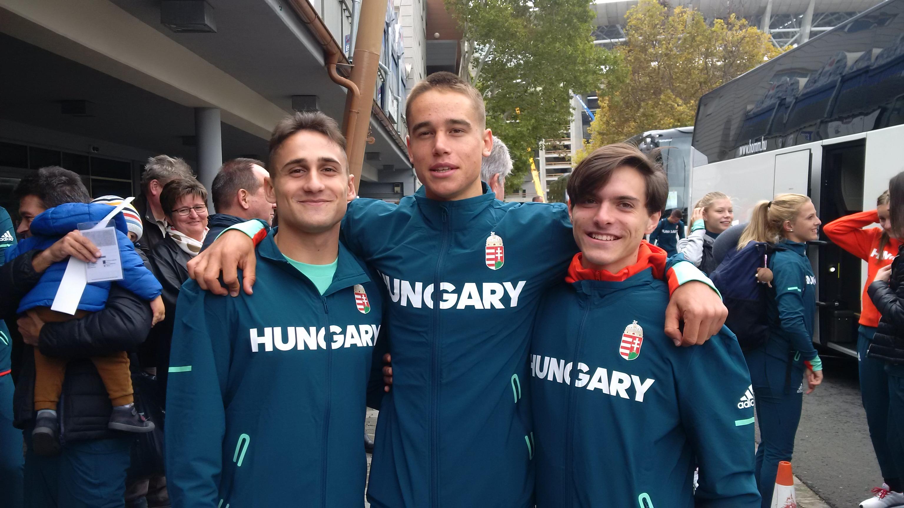 A magyar ifjú sportolók kiemelkedően szerepeltek