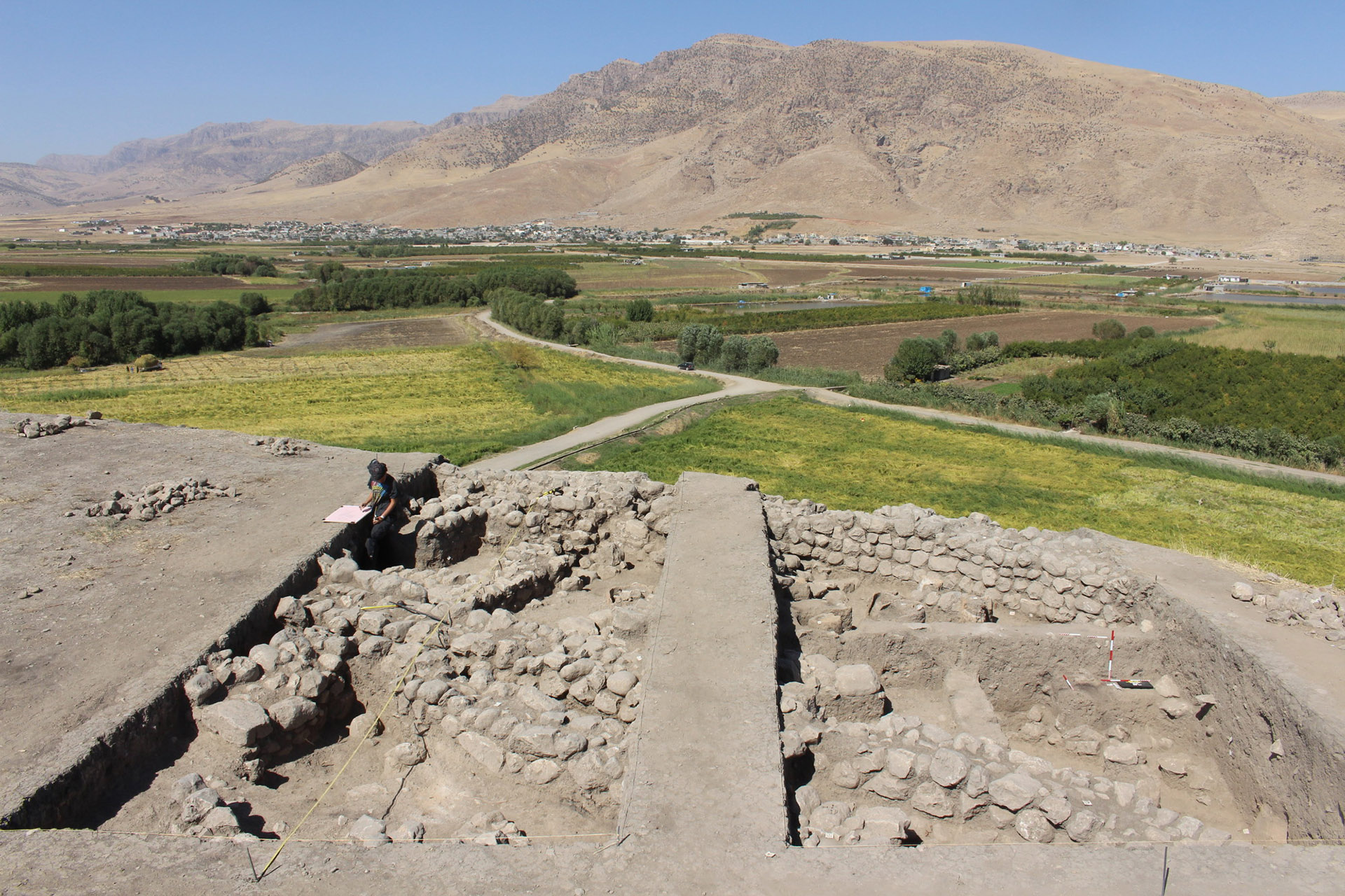 Az Újasszír Birodalom egyik jelentős központját tárták fel