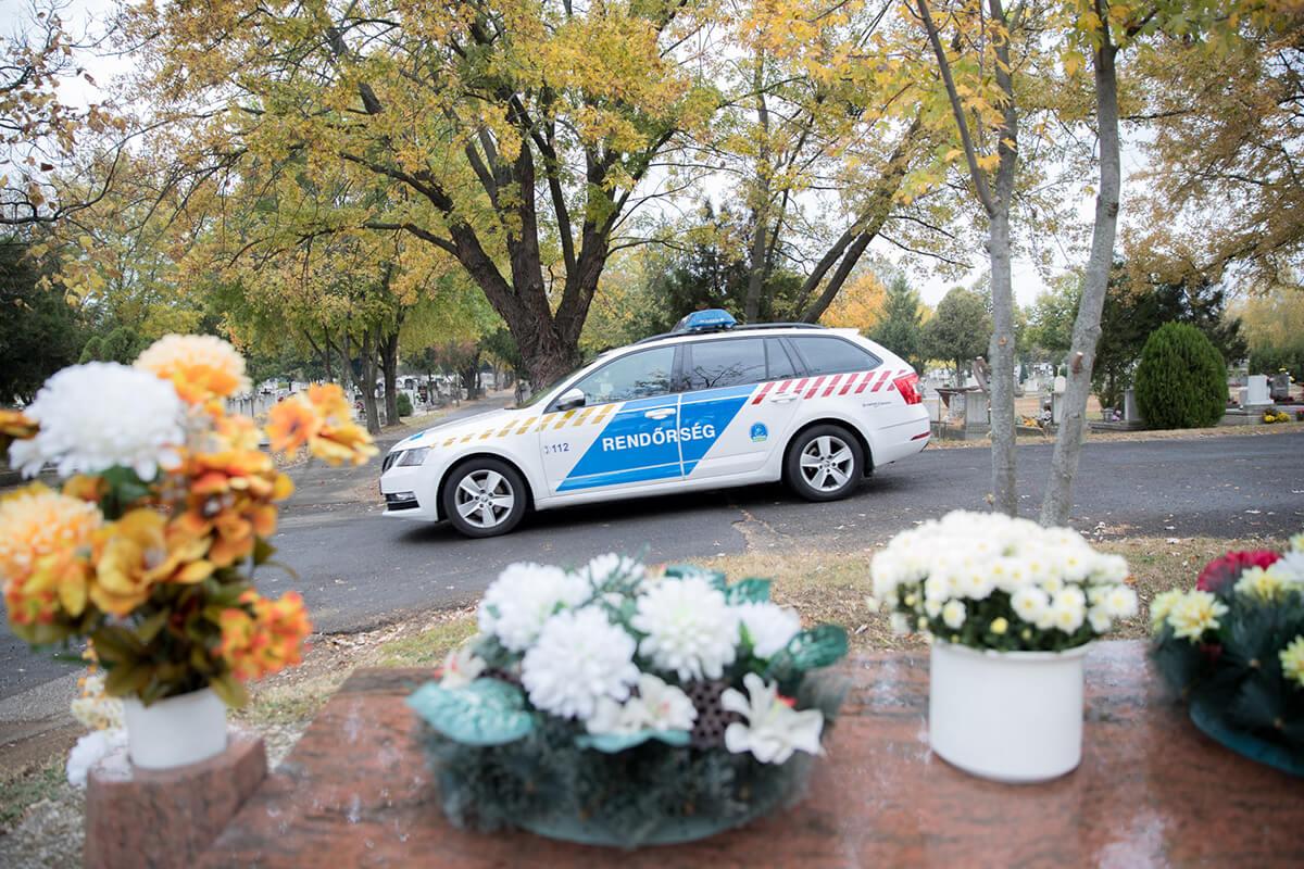 Halottak napja – Fokozott rendőri jelenlét lesz az utakon