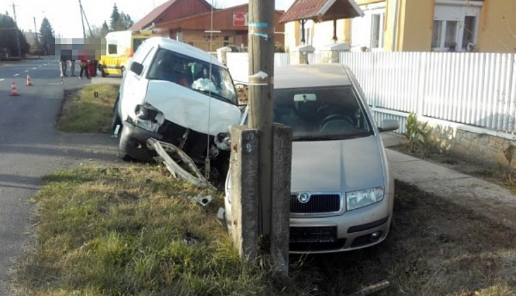 Súlyos közlekedési baleset Körösladányban