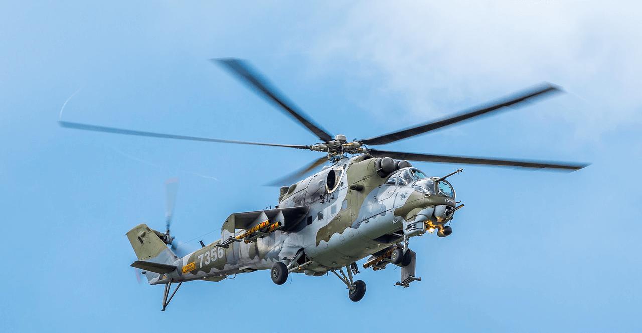 Látott már Mi-24-es harci helikoptert Békéscsaba felett? Íme: