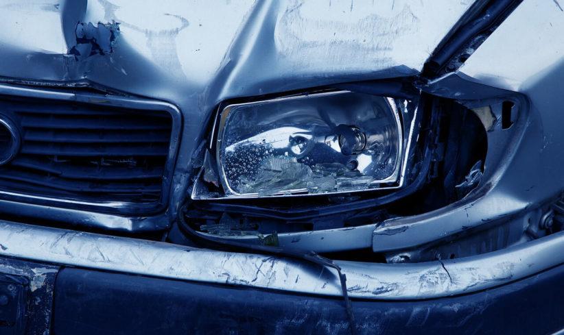 rendőr, baleset