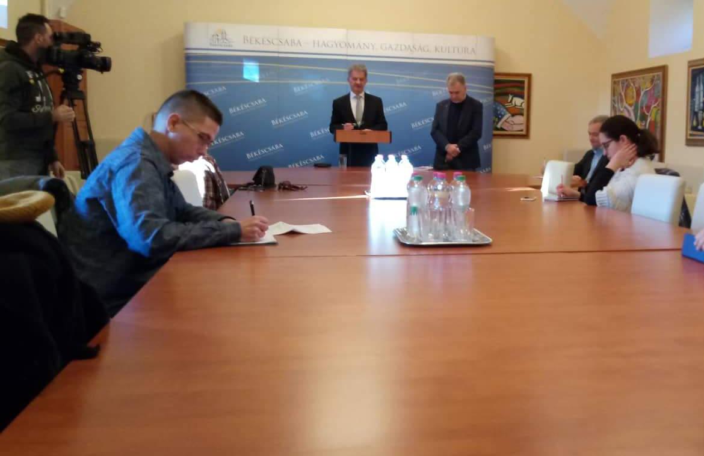 Közgyűlést értékelő sajtótájékoztatót tartott Szarvas Péter