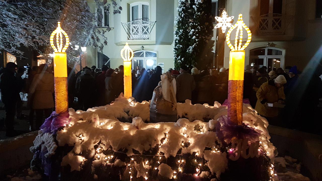 Advent harmadik vasárnapján újabb gyertya gyulladt meg Kondoroson