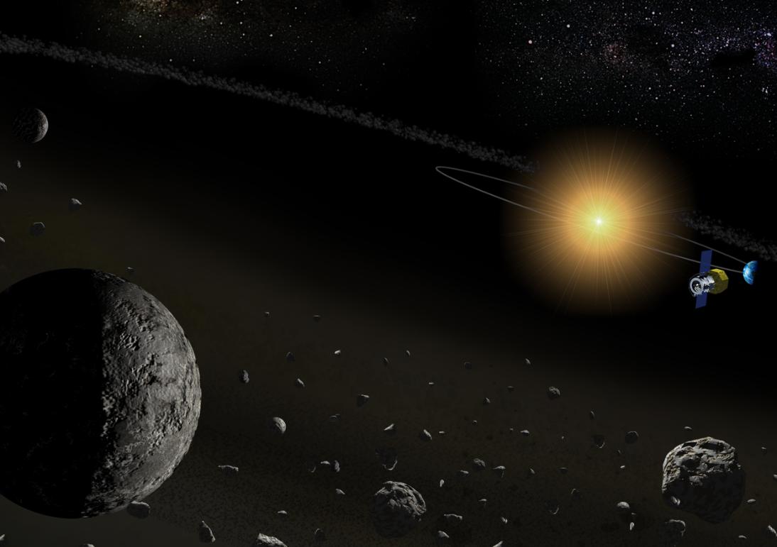 Egy japán műhold számos kisbolygón észlelt vizet