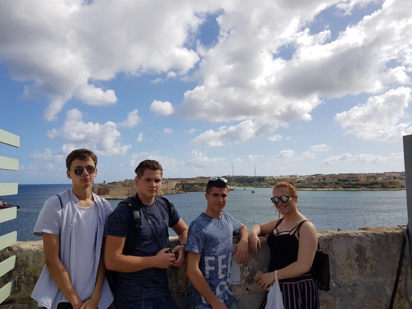 Máltán gyakorlatoztak az Erasmus program keretében