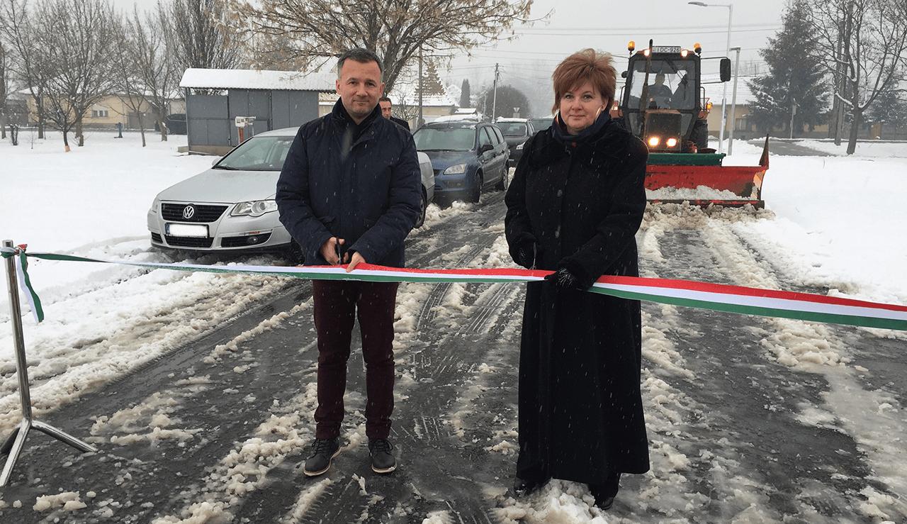 Gyula város önkormányzata megépítette a paradicsomba vezető utat