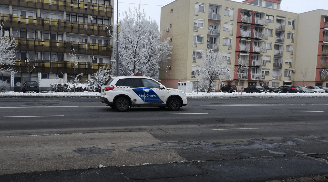 El akarta kerülni a rendőri intézkedést egy ittasan vezető férfi Békéscsabán