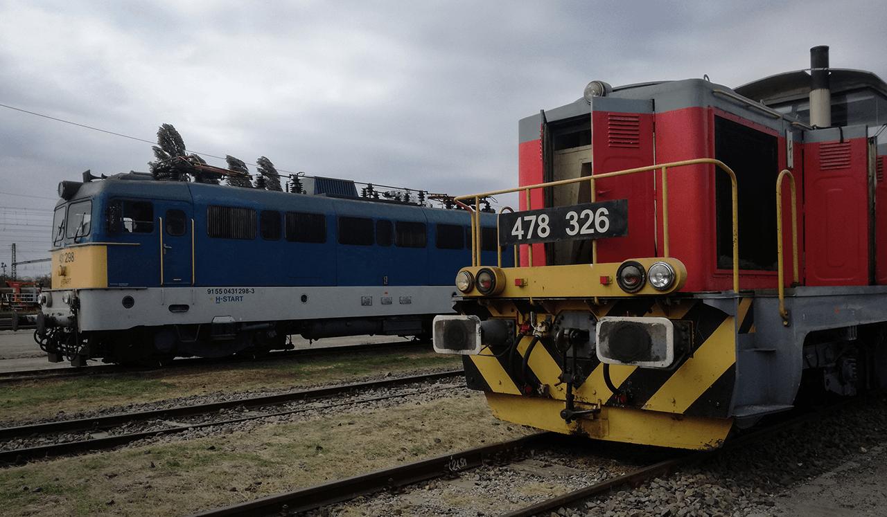 Veszélyes áruk szállítását ellenőrizték a vasúton