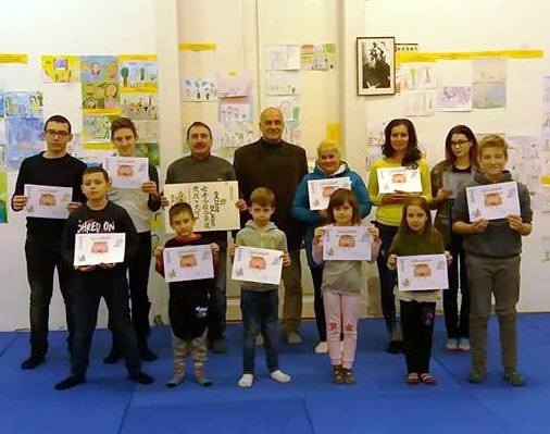 Aikido: övvizsgával zárták az évet a csabaiak