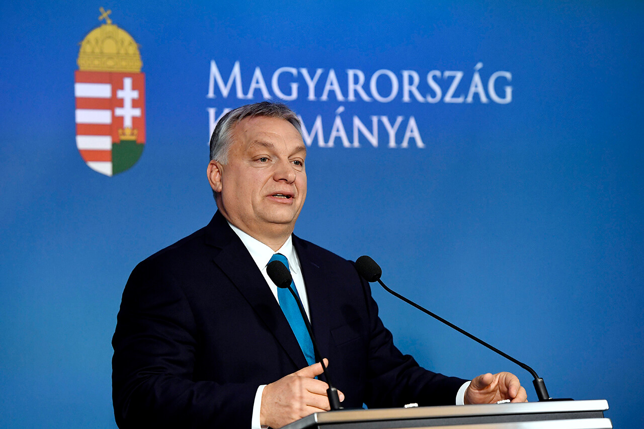 Rendkívülinek mondható sajtótájékoztatót tartott Orbán Viktor
