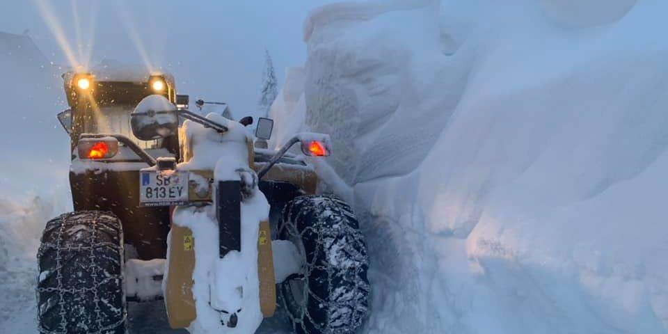 Hatalmas mennyiségű hó hullott Ausztriában