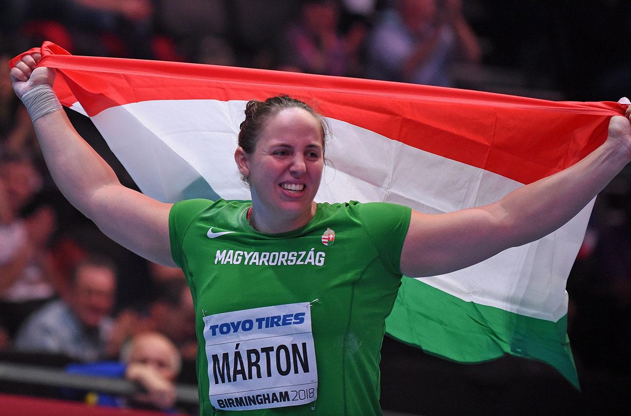 Márton Anita bronzérmet szerzett a düsseldorfi fedettpályás versenyen