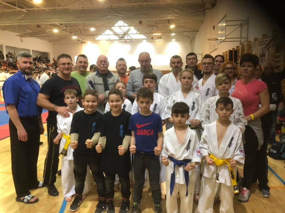 Megrendezésre került a kyokushin karate verseny Szarvason