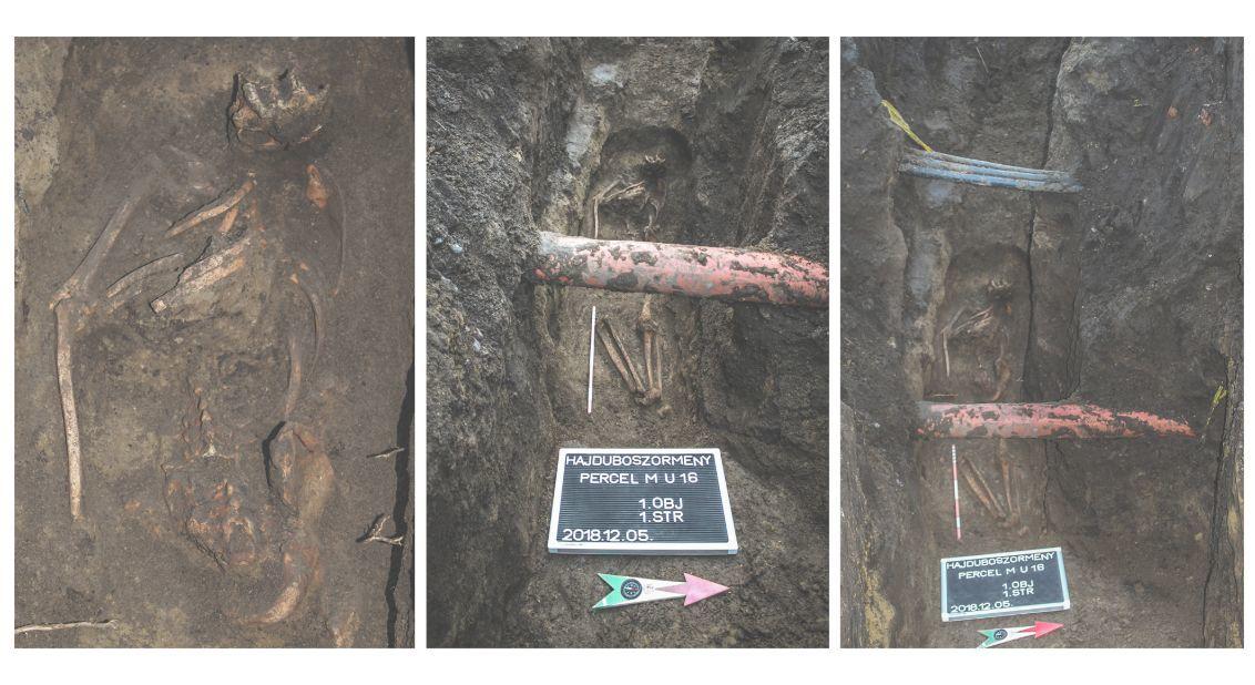 Feltehetően egy boszorkánynak hitt személy sírját találták meg Hajdúböszörményben