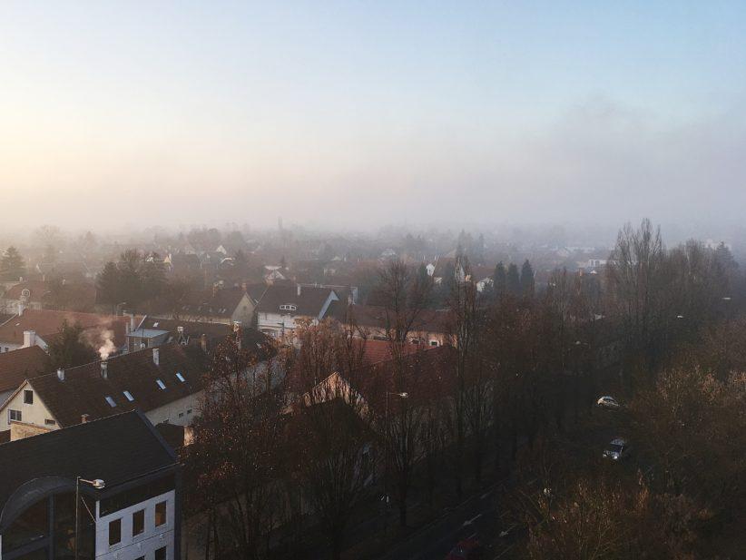 reggel köd száraz időjárás