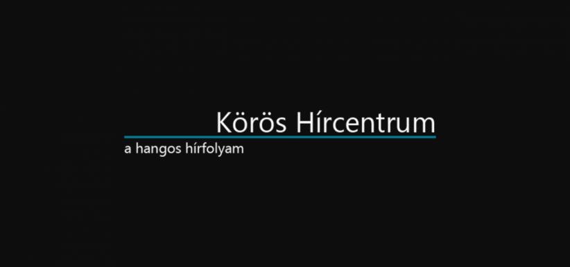 körös hírcentrum logo