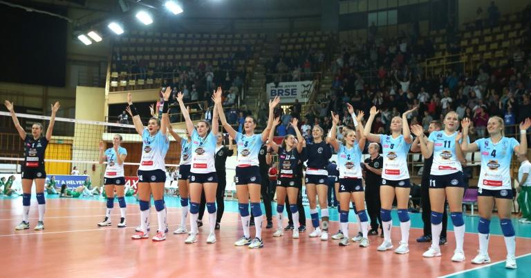 A BRSE hazai pályán 3-2-re legyőzte a francia Saint-Raphaël csapatát