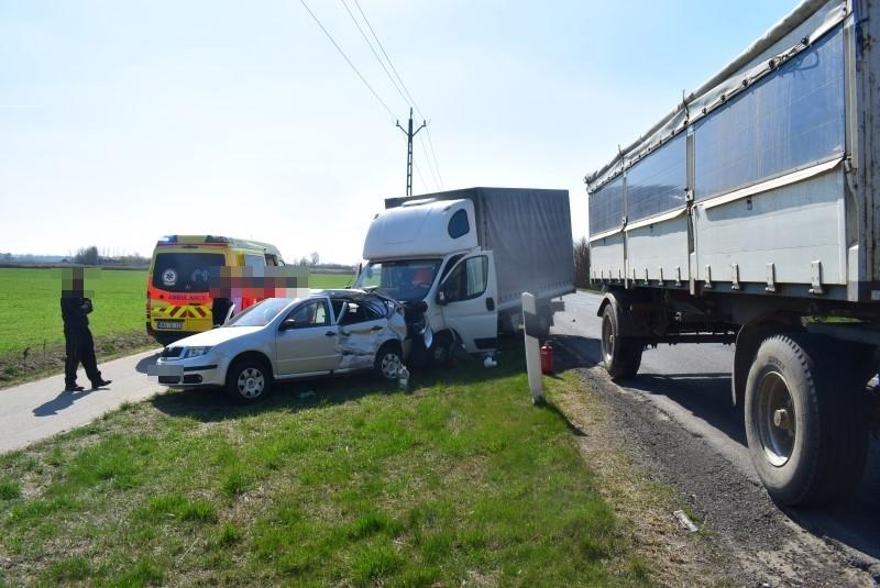 Több közlekedési baleset is történt tegnap Békés megyében