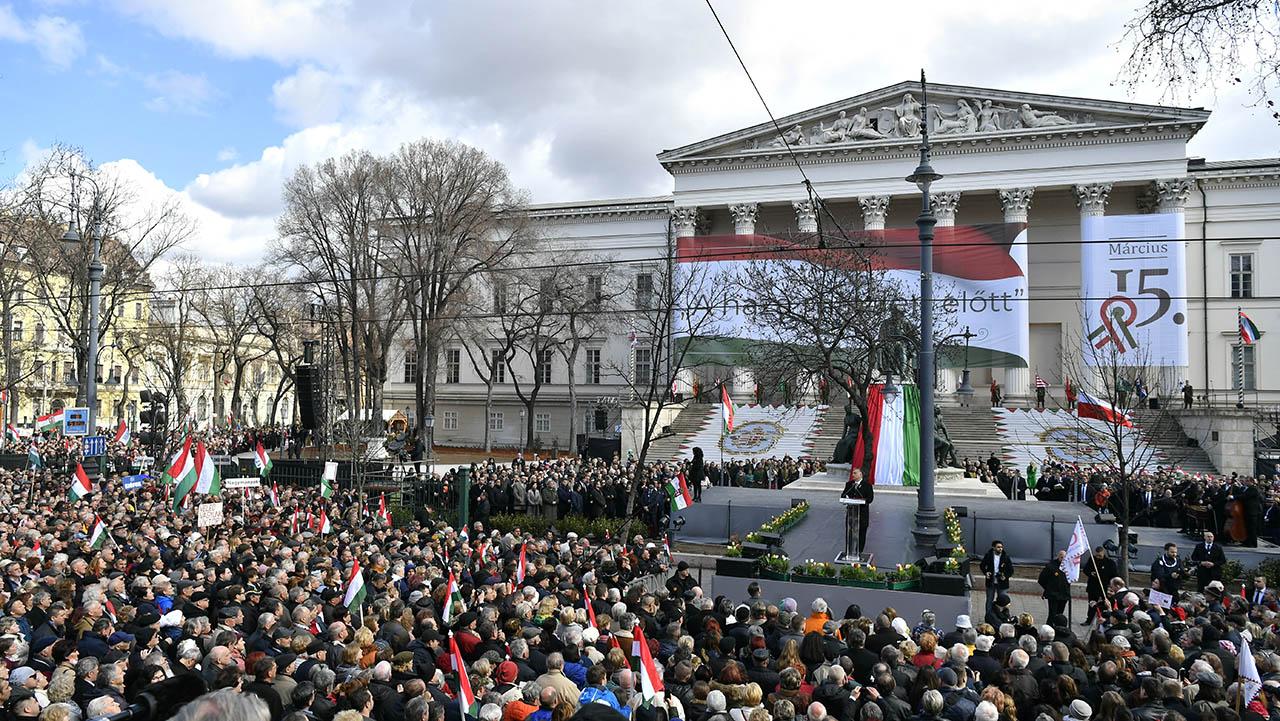 Orbán: Magyarországon, ha szabadság van, minden van