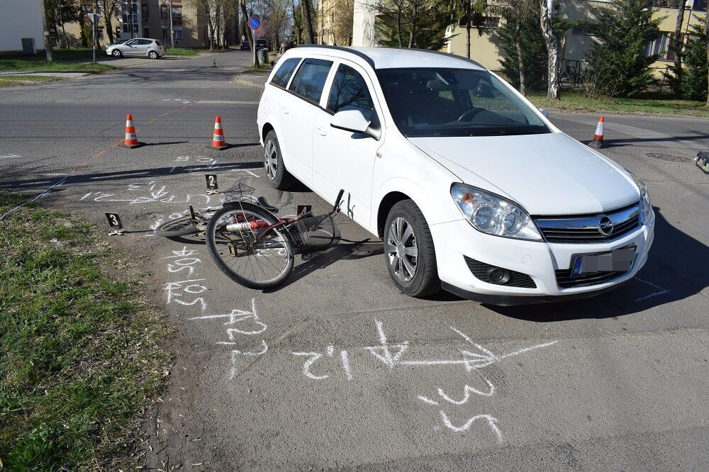 Több kerékpáros-baleset is történt tegnap
