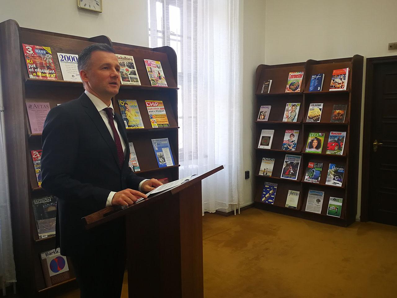 Befejeződött a Mogyoróssy János Városi Könyvtár energetikai korszerűsítése