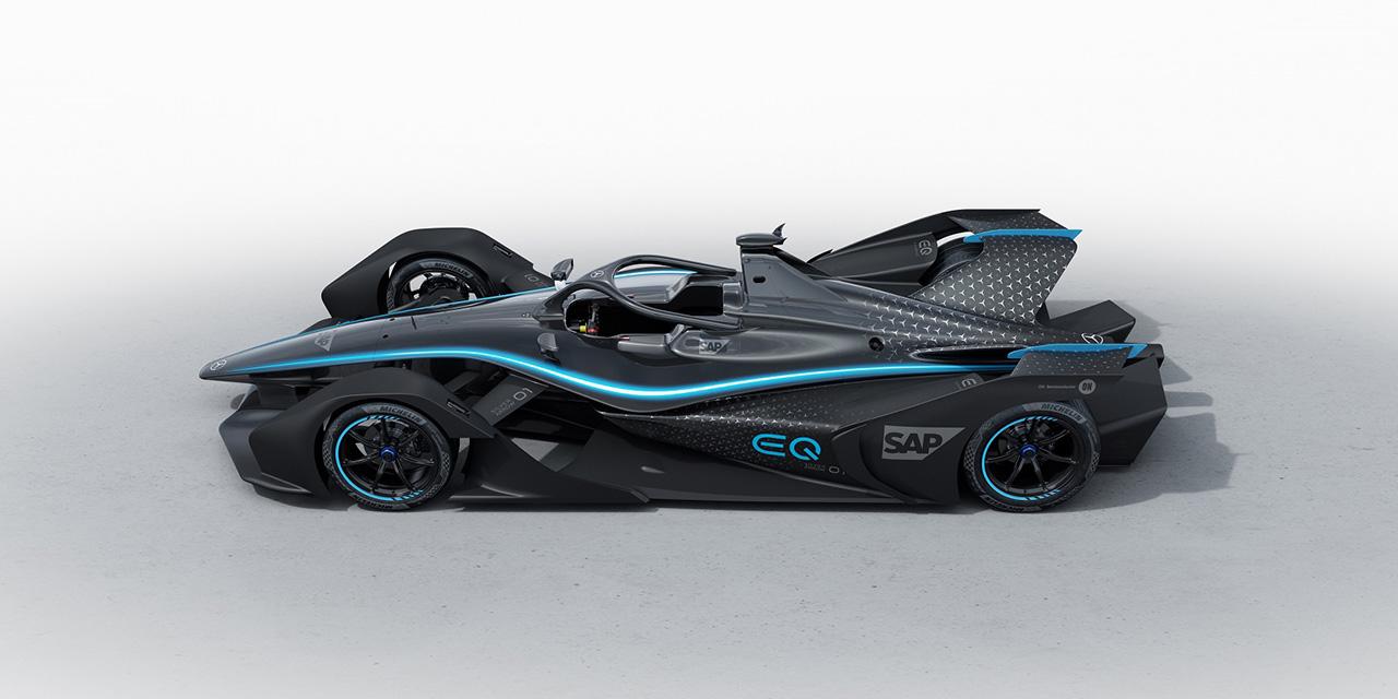 Bemutatkozott a Mercedes Formula E autója