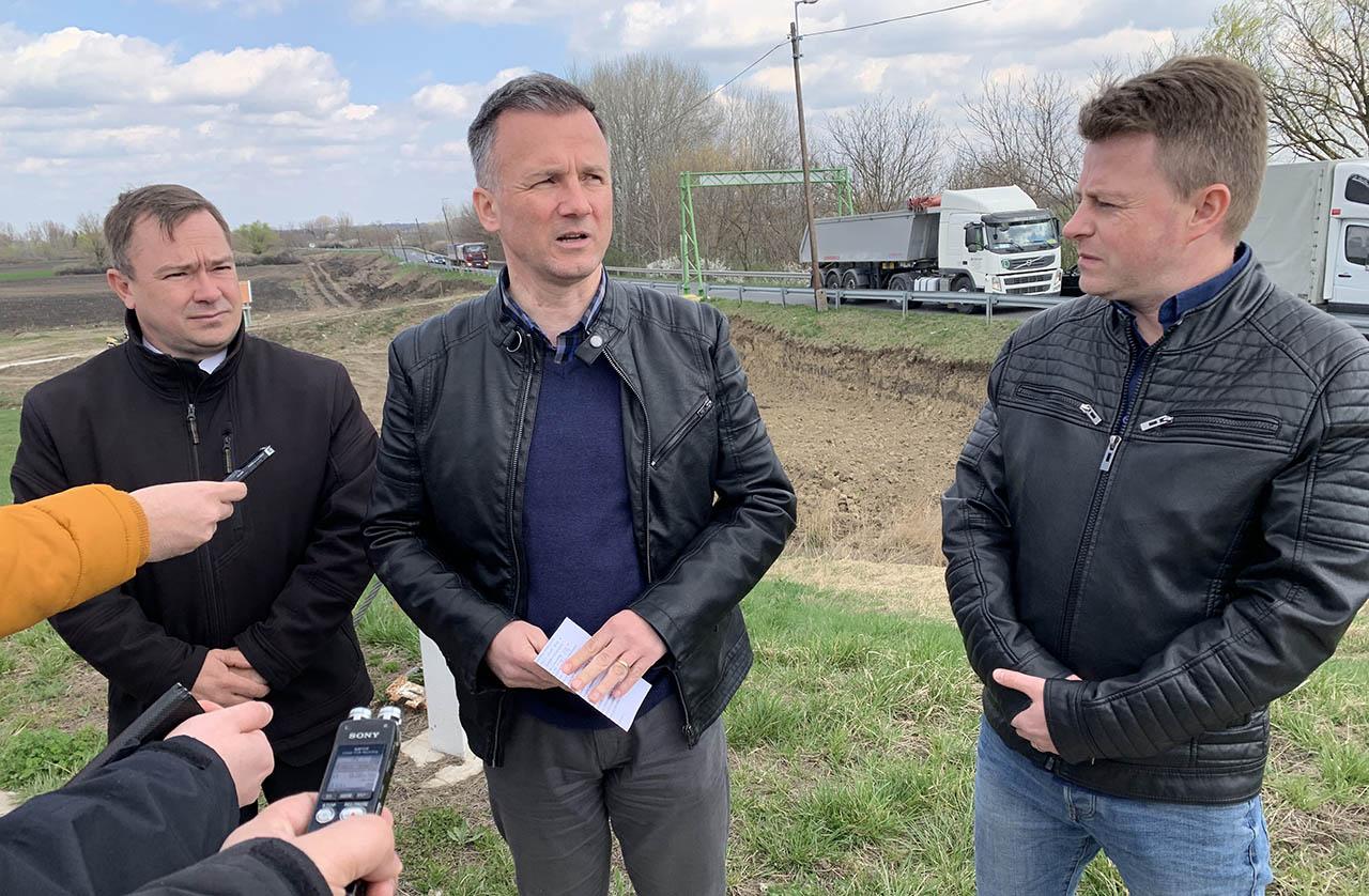 Zajlik a Gyula és Városerdőt összekötő kerékpárút építése
