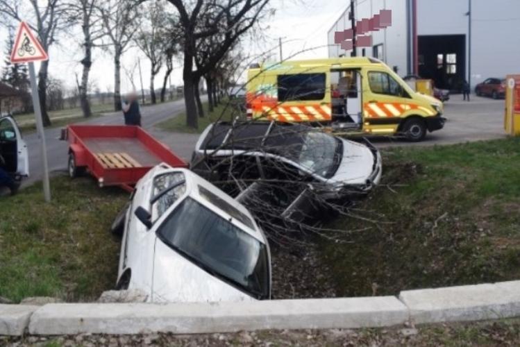 Közúti baleset Békésen, Vésztőn és Orosházán