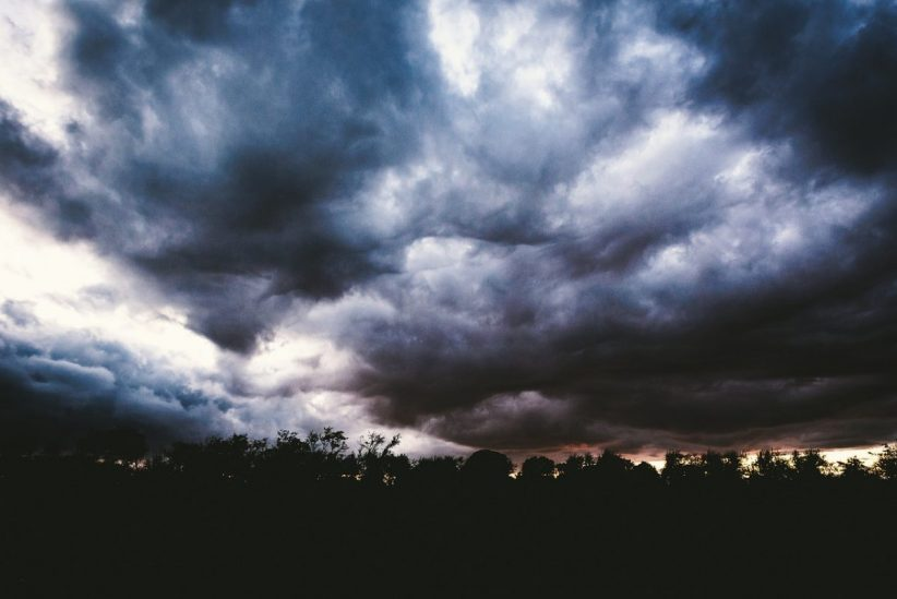vihar, riasztás, hidegfront