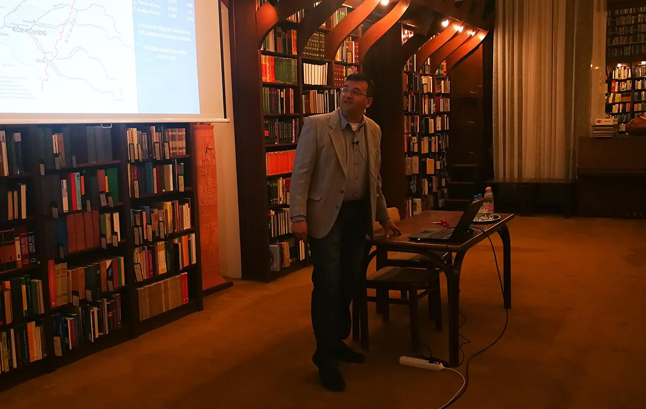 A Körös-vidék titokzatos kincseiről tartottak előadást a gyulai könyvtárban