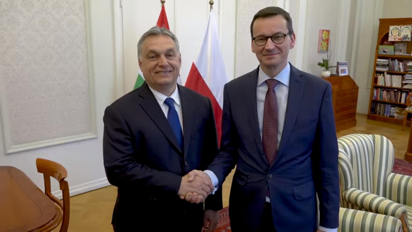 Orbán és Morawiecki közös videóban hív ünneplésre