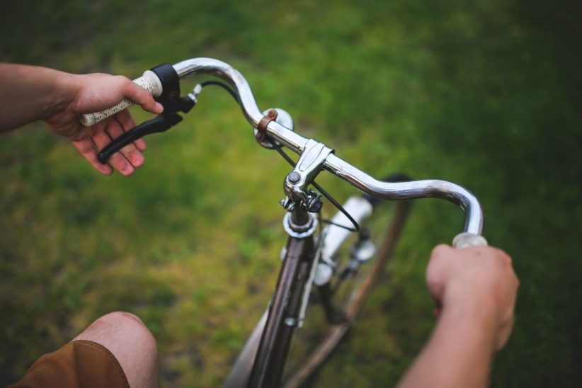 kerékpáros, kerékpár, kerékpározás, megvilágosodás