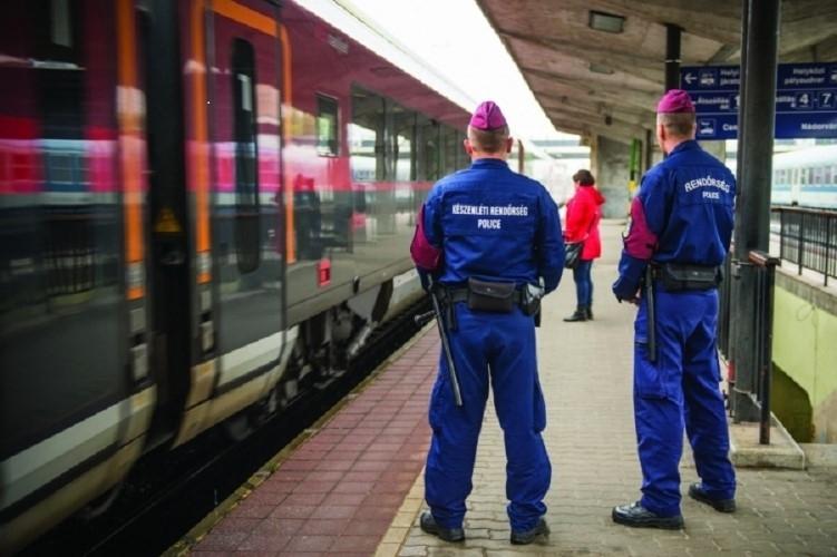 Fokozott vasúti ellenőrzést tartanak a rendőrök