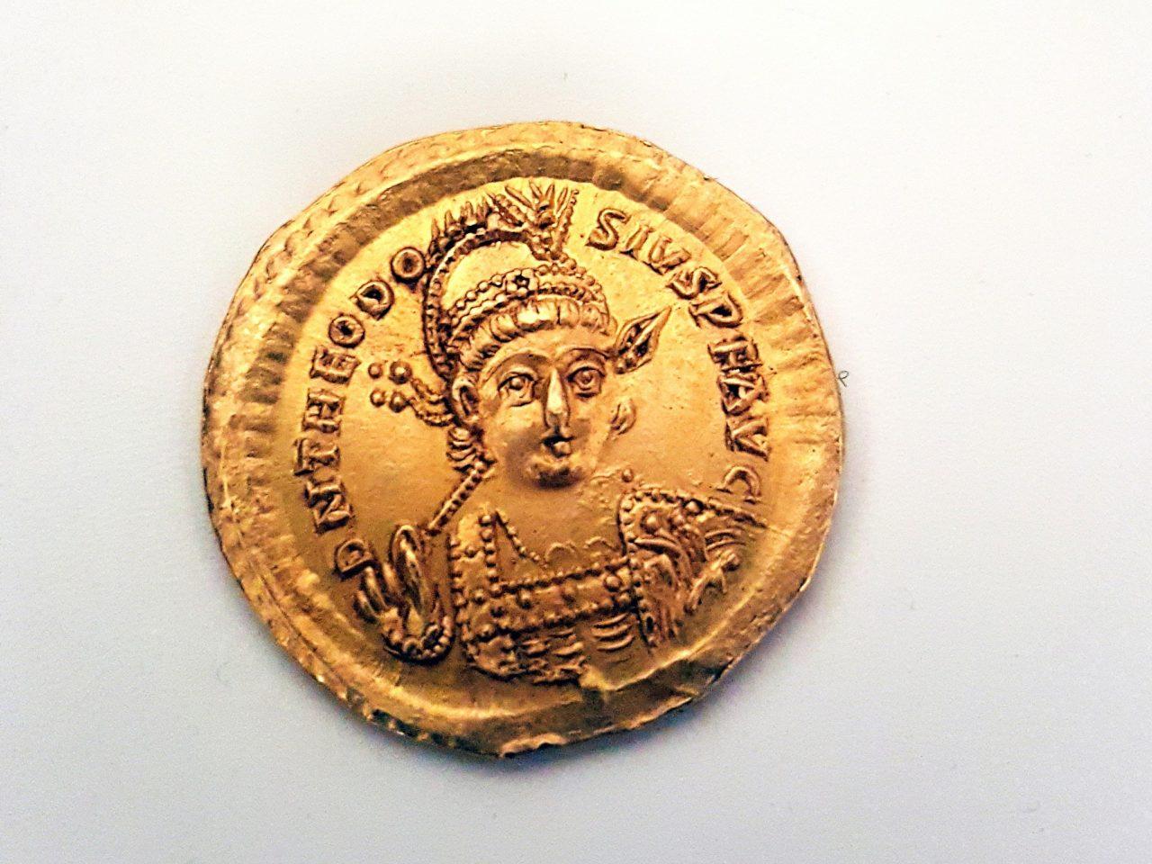 Egy különleges, bizánci érmét találtak Izraelben
