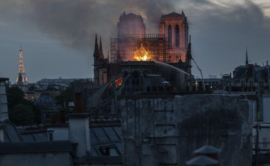Megmenekült a Notre-Dame nagy része