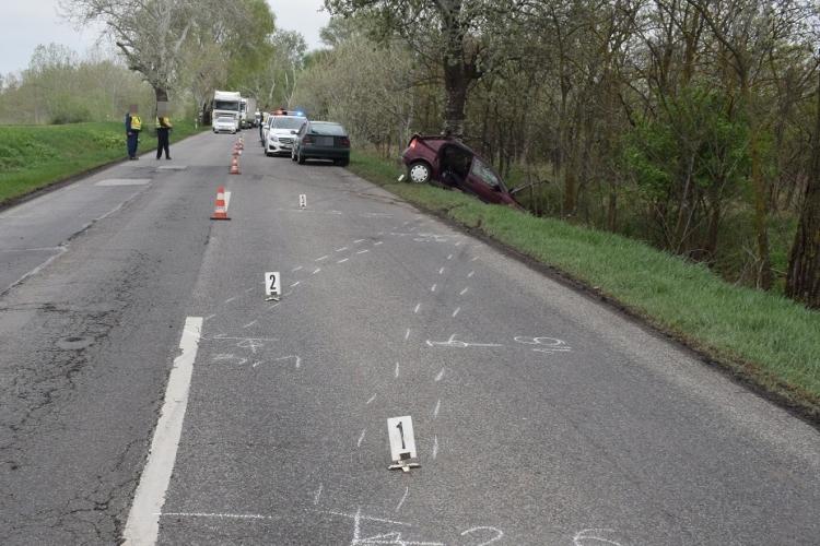 Baleset és ittas vezetés miatt intézkedtek a rendőrök