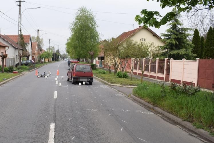 Békéscsabán baleset, Mezőhegyes külterületén ittas járművezetés