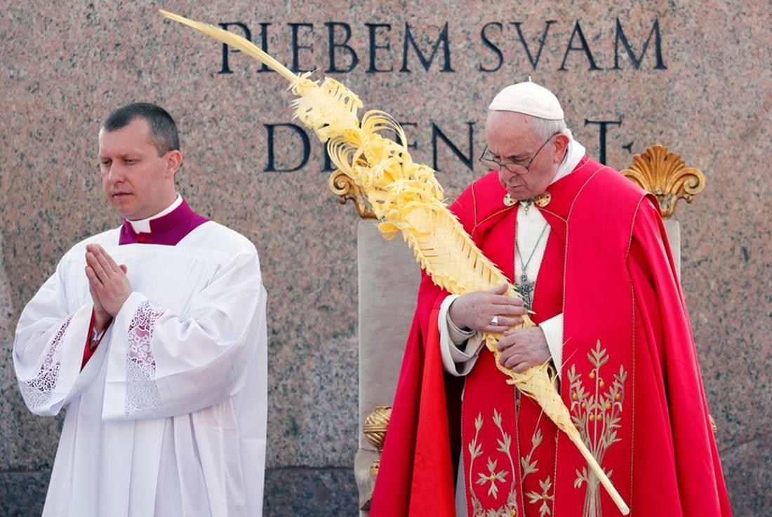 Ferenc pápa: a diadalittas világra Jézus az alázattal válaszol