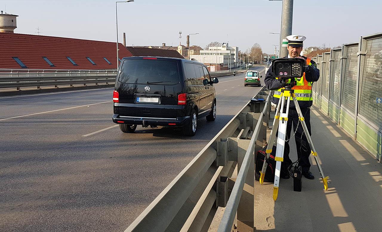 Zajlik az országos sebességellenőrzési akció