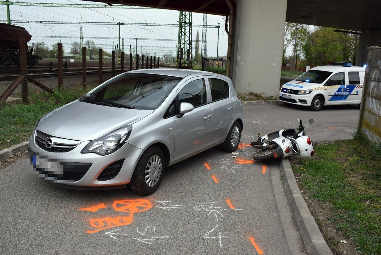 Könnyű sérüléssel járó baleset Békéscsabán, lopás Vésztőn
