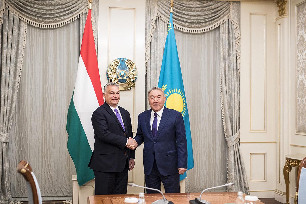 Orbán: Magyarország erősíteni akarja kapcsolatait a keleti országokkal
