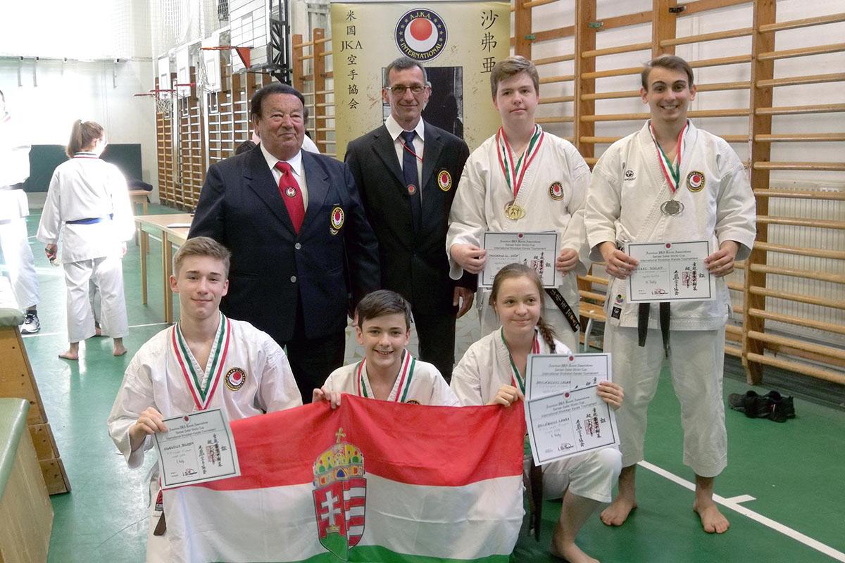 Shotokan karate érmek a fővárosból