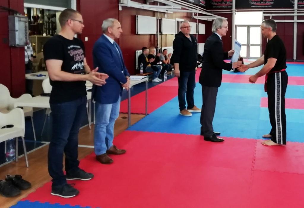 kick-box mestervizsga