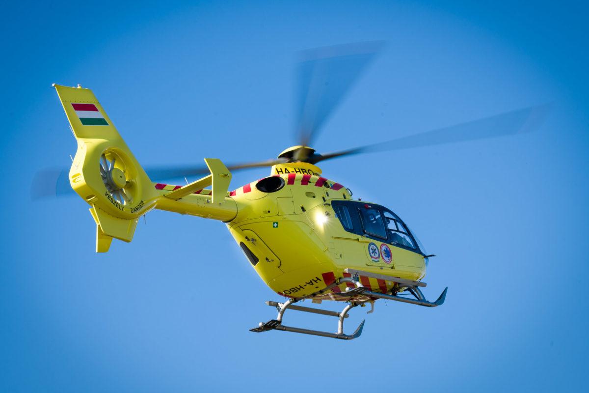 Mentőhelikoptert is riasztottak az orosházi gimnáziumhoz