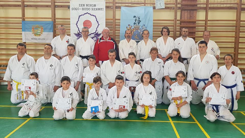 Nyílt karate szeminárium zajlott Békéscsabán